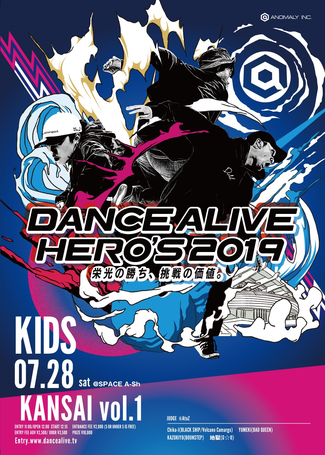 DANCE ALIVE HERO'S KIDS KANSAI VOL.1