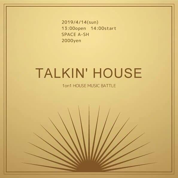 TALKIN'HOUSE vol.8